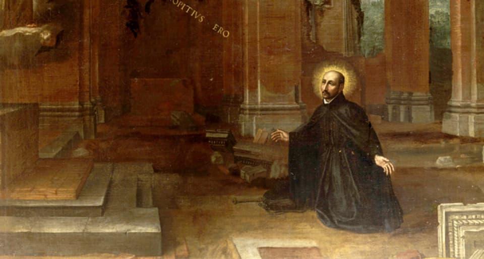 Einer der Gründerväter des Jesuitenordens: Ignatius von Loyola.