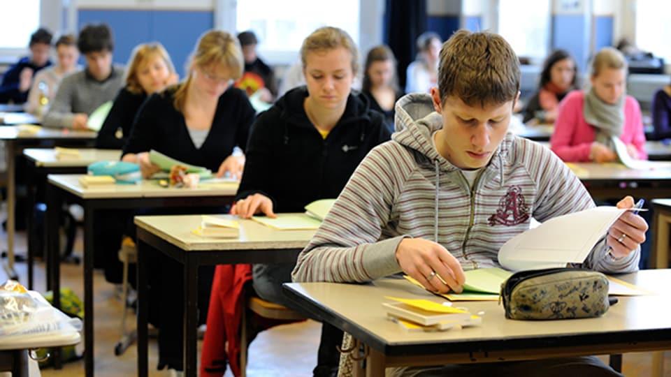 Im Fach Mathematik ist der Anteil der ungenügenden Maturprüfungen gross.