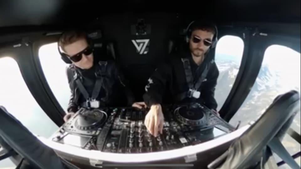Spezialeinheit oder DJ's? Streams von DJ Sets werden immer wie ausgefallener