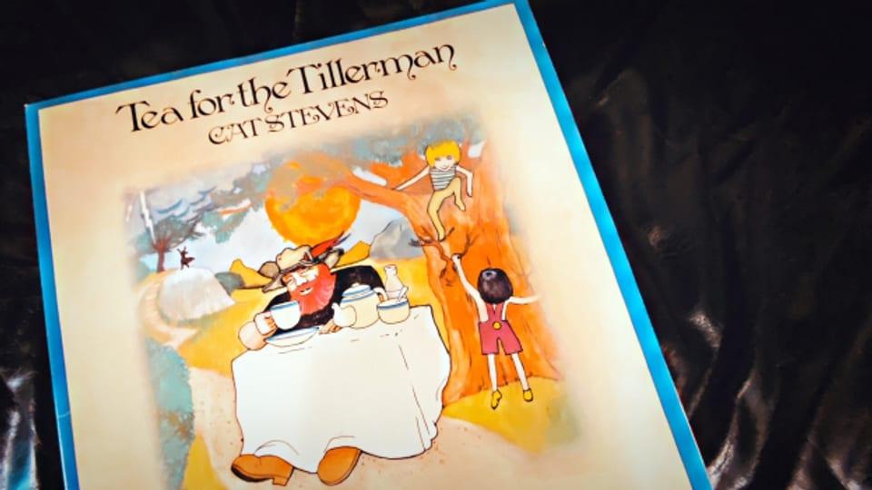 «Tea for the Tillerman» - Cat Stevens hat auch das Album-Cover seines legendären Folk-Rock-Klassikers selber gezeichnet.