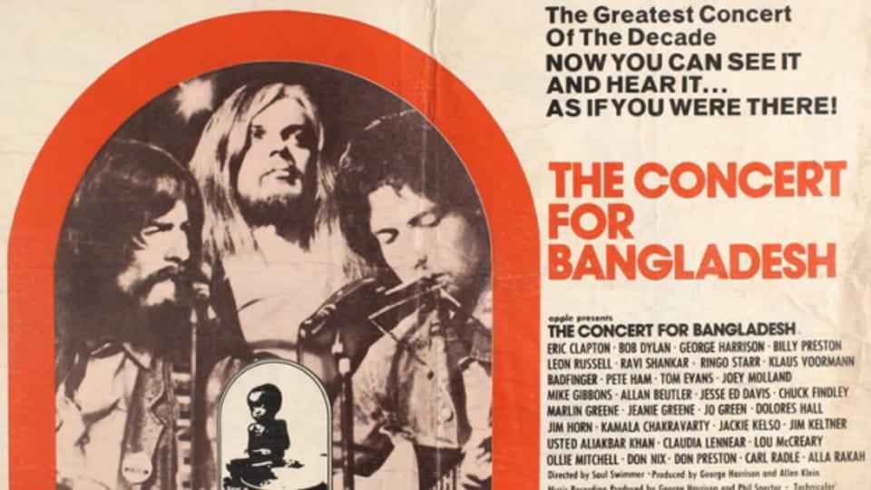 The Concert For Bangladesh gibt es auch als 3-fach LP Box und Film