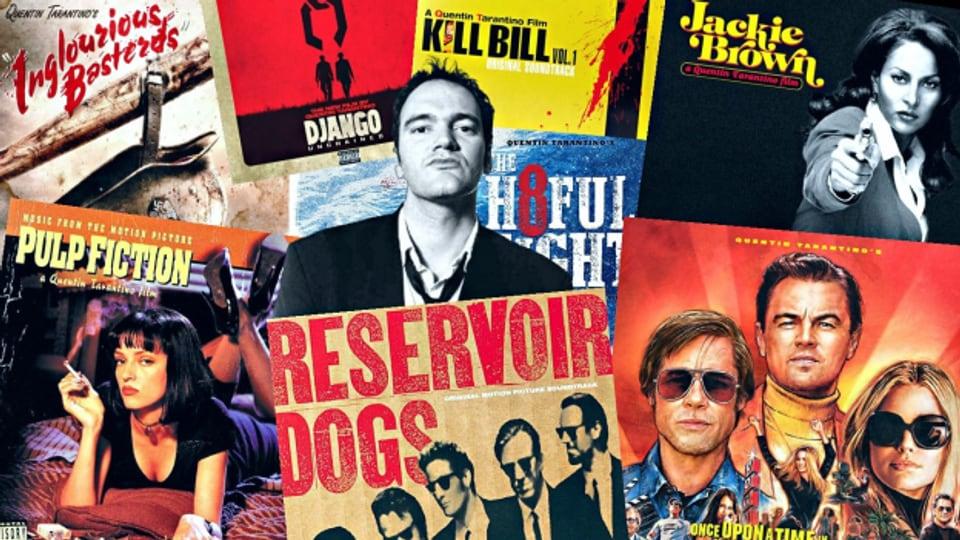 Sei es in seinem 92er Debut «Reservoir Dogs» oder in «Pulp Fiction», «Kill Bill», «Jackie Brown» und «Django Unchained», Quentin Tarantino findet immer den perfekten Song für seine Filme!
