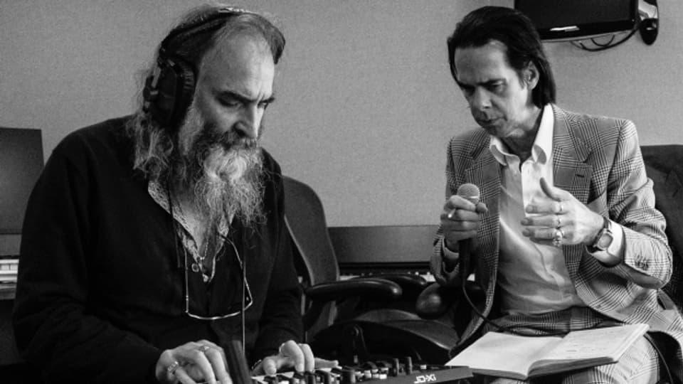 Neben ihrem Hauptprojekt Nick Cave & The Bad Seeds auch für Theater- und Filmmusik ein Gespann: Nick Cave (r.) und Warren Ellis.