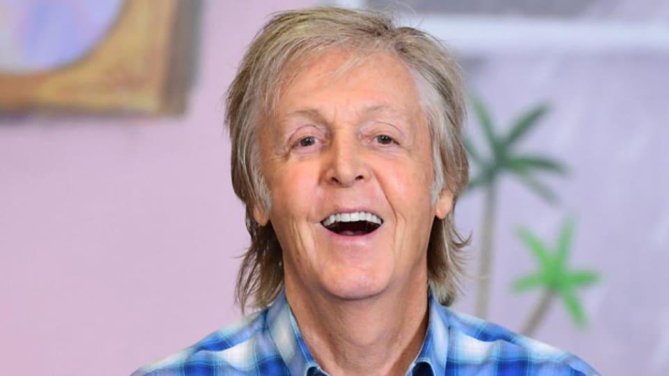 Paul McCartney: Grund zum Strahlen
