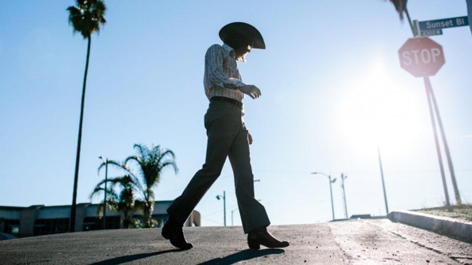 California Cool: Vinyl-Cowboy Brian Chillemi zu Hause in Los Angeles.
