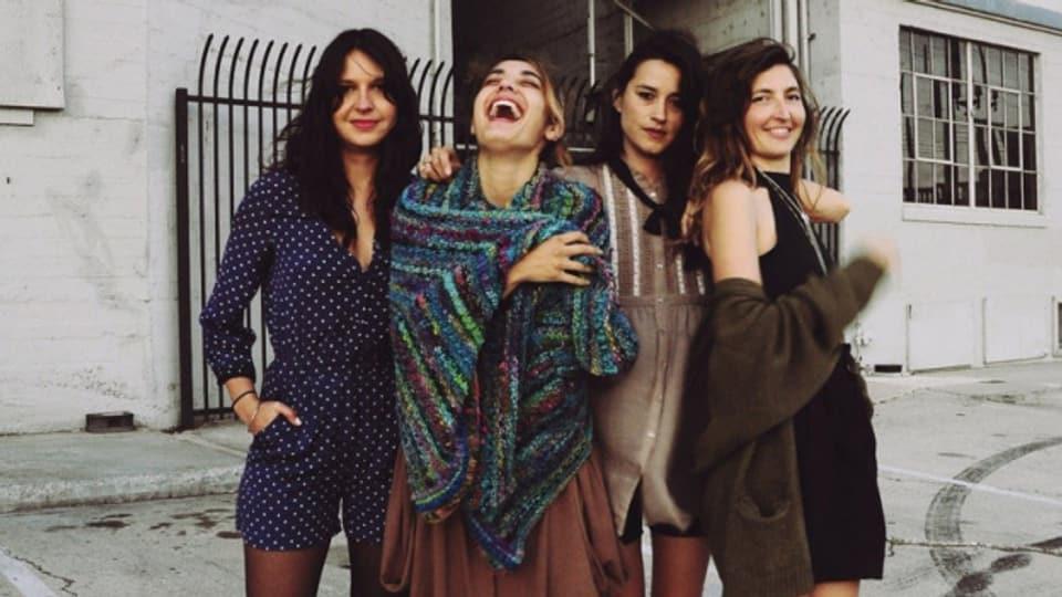 Eine Indie-Instanz: Die vier Musikerinnen von Warpaint hörten wir zuletzt 2016 mit «Heads Up.»