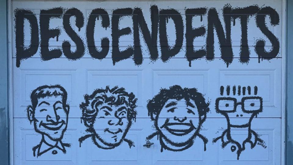 Punkrock-Ikonografie: Descendents um Milo (ganz rechts) auf dem Cover von «9th & Walnut»