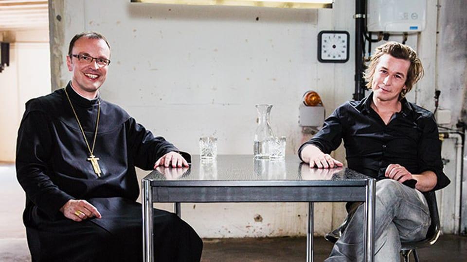 Abt Urban Federer und Arno Camenisch
