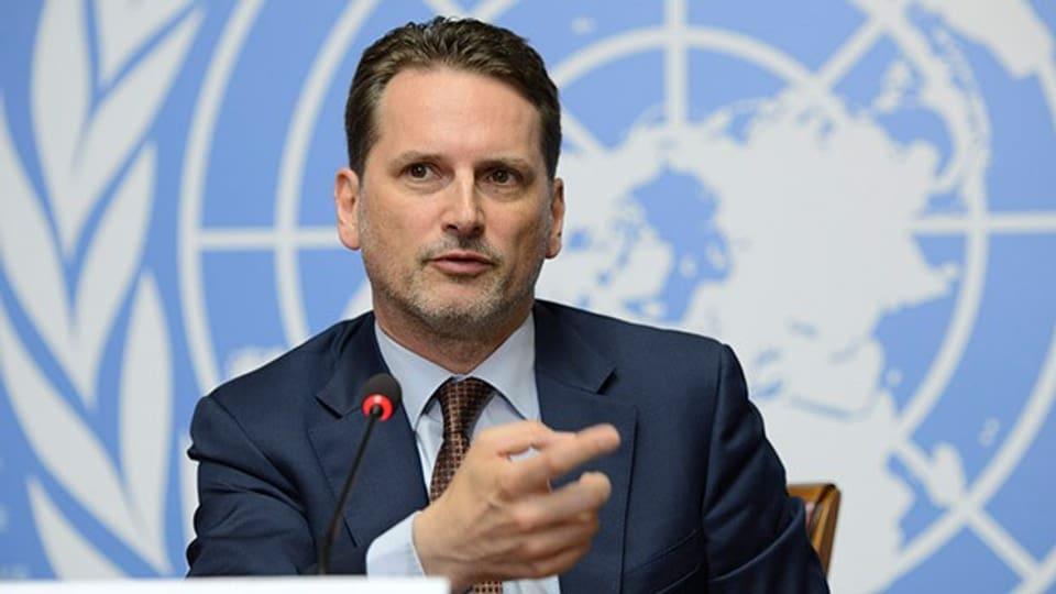 Stationiert in Ostjerusalem führt der Familienvater ein Leben zwischen den Fronten: UNO-Generalkommissar Pierre Krähenbühl.