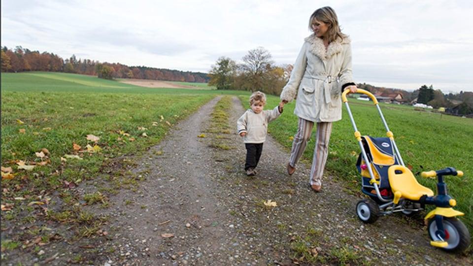 Zu zweit allein: Für Singles mit Kind ist die Partnersuche noch schwieriger