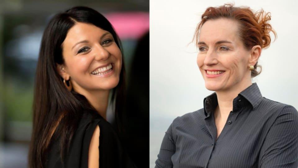 Geraldine Scherler und Gabriela Taugwalder