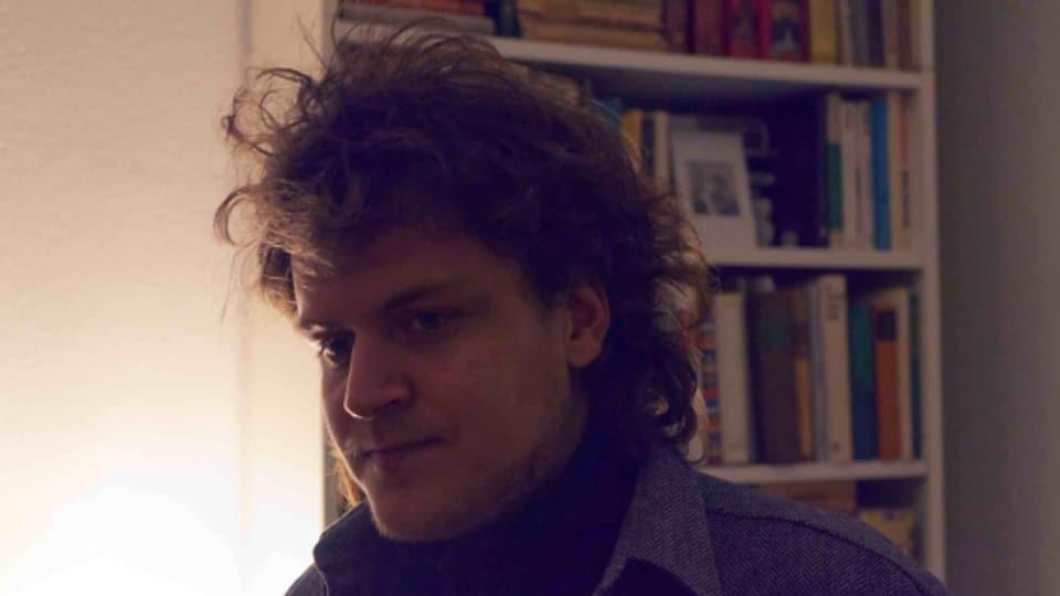 Singersongwriter Lucien Badoux aus Zürich