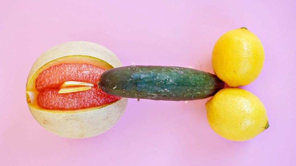 Früchte, die an Genitalien erinnern