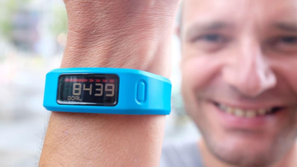 Gnadenlos war der Tracker zu Input-Redaktor Reto Widmer: Unter der vorgegebenen Anzahl Schritte pro Tag gab's keine «Belohnung»..