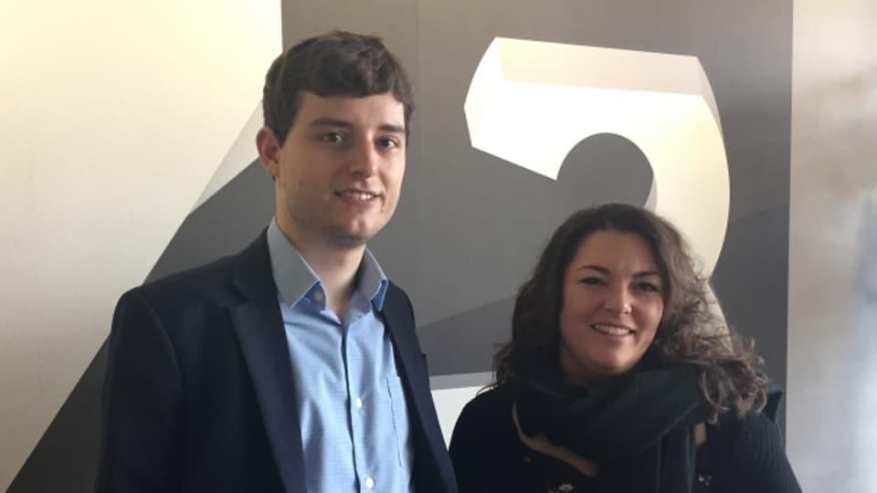 Tamara Funiciello und Benjamin Fischer