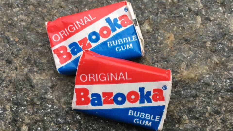 Der Bazooka-Kaugummi mit 'Bazooka Joe' ist legendär