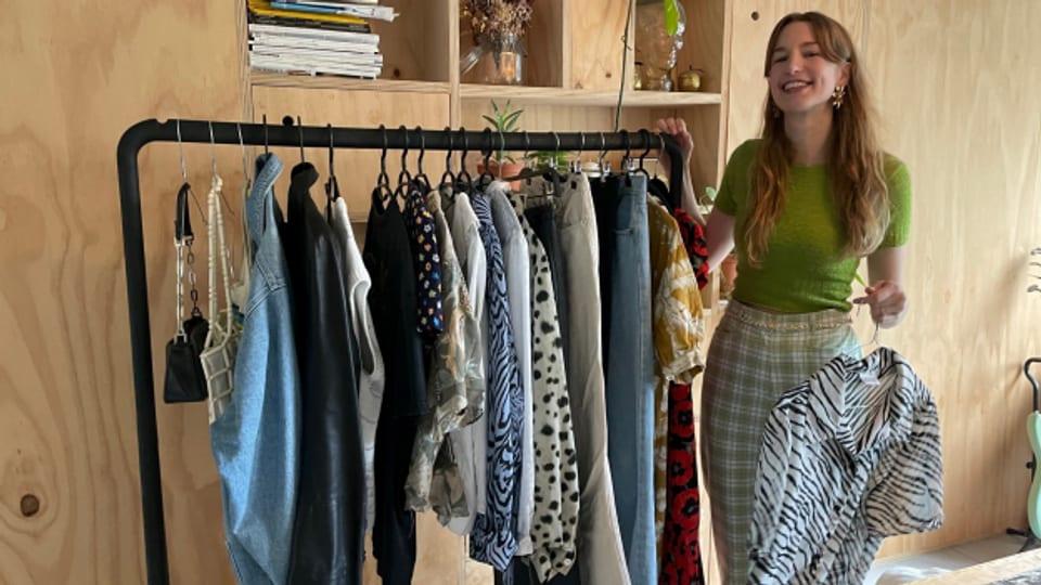 Tanja Stöcklin ist Stylistin für nachhaltige Kleider
