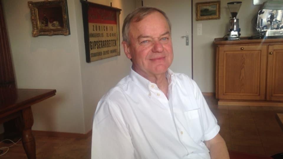 Rudi Bindella möchte in seinem Unternehmen eine Art Vaterrolle übernehmen.