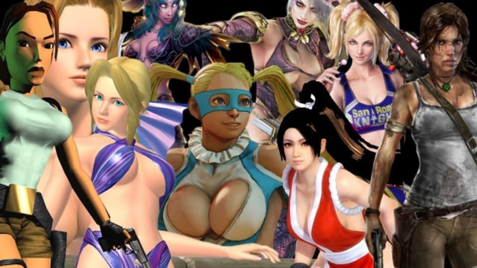 Es gibt viele Brüste in Games.