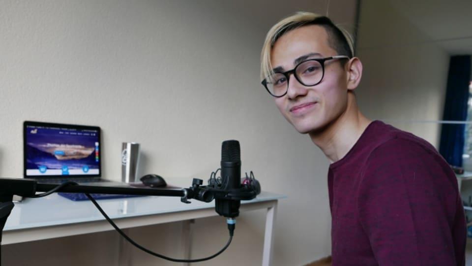 Thomas Kovacs (22) aka Sparkojote teilt mehrmals in der Woche über Youtube seine Spar- und Anlagetipps.
