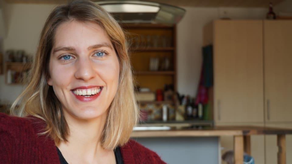 Sozialpädagogin Julia Lehmann arbeitet in einem Kinderheim