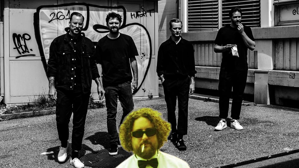 1A Photoshop-Skills mal wieder: TOMPAUL (hinten) feat. Skor (vorne)