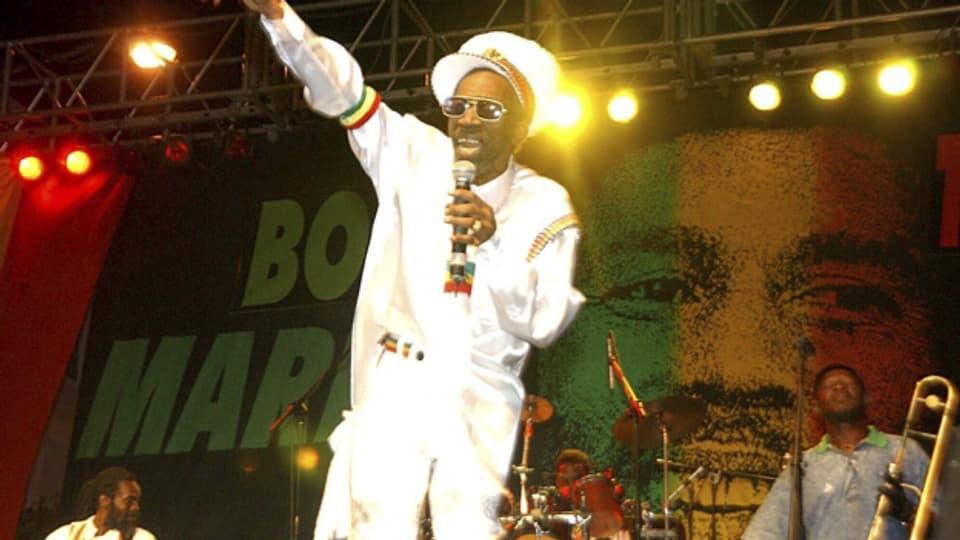 Bunny Wailer live in Jamaika