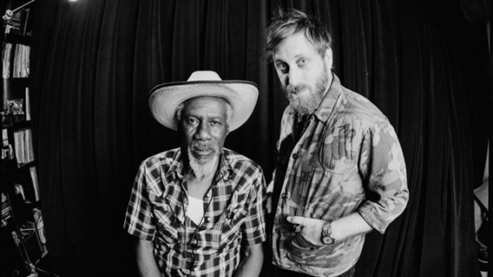 Der rüstige Soul-Rentner Robert Finley und sein Produzent Dan Auerbach (Black Keys)