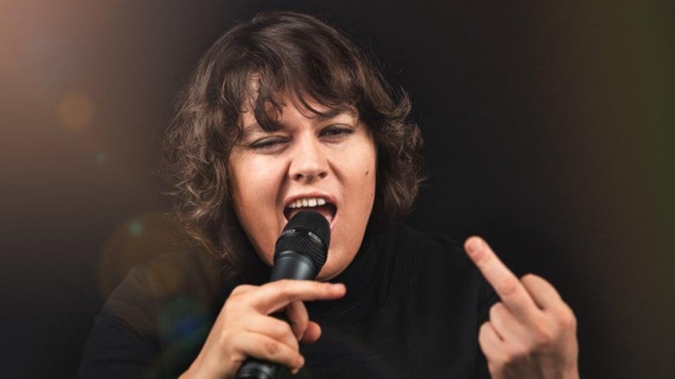 Satirikerin und Kabarettistin Patti Basler