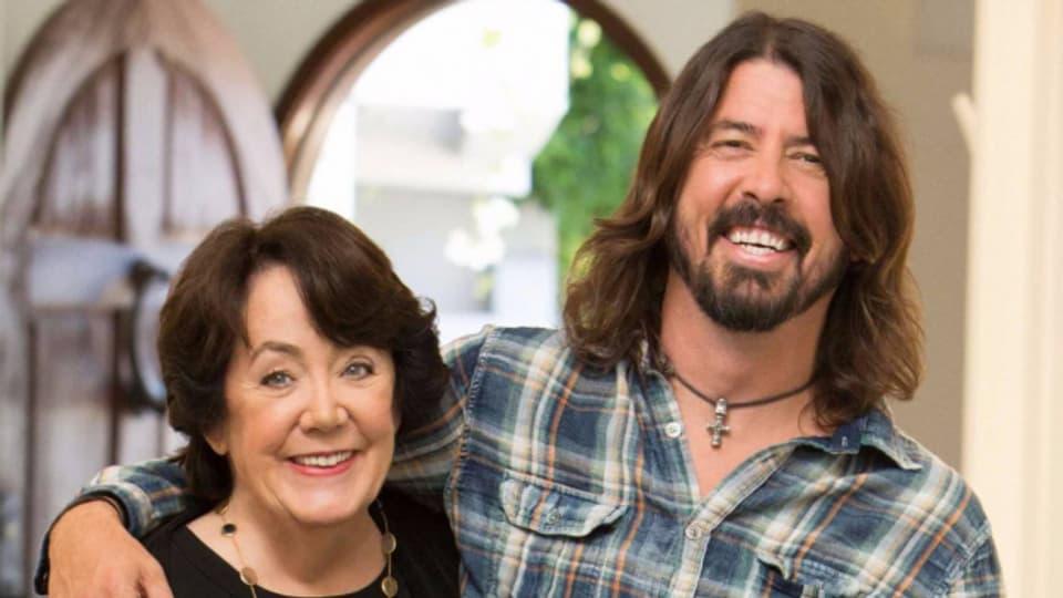 Dave Grohl und seine Mutter Virginia