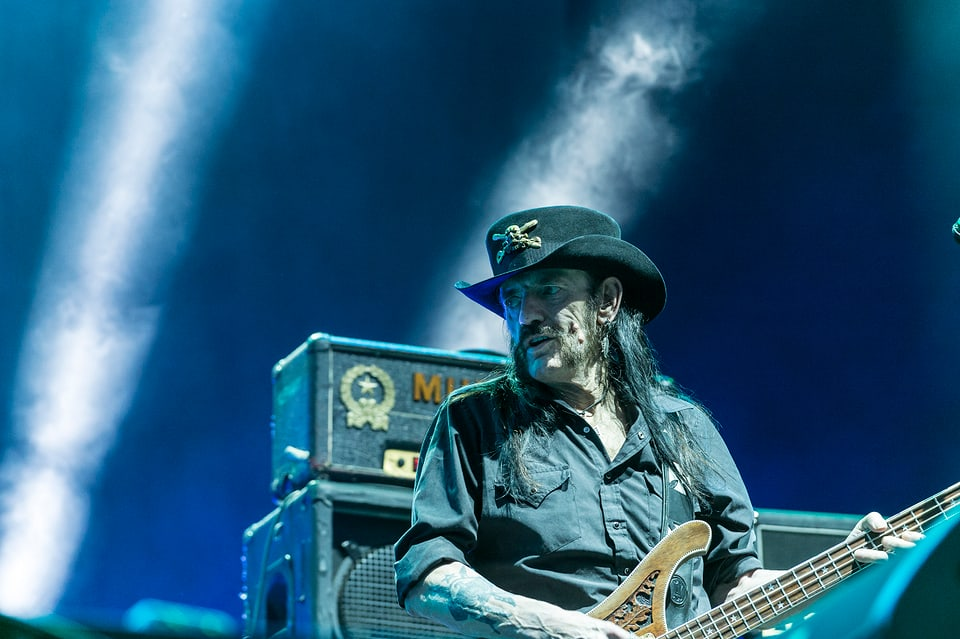 Letzte CH-Show vor seinem Tod: Lemmy Kilmister von Motörhead