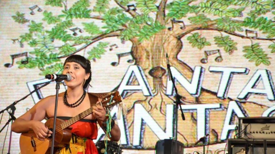 Die Macher von «Planta y Canta» entwickeln nicht nur Bildungsprogramme in den Schulen sondern regen auch mit einem Festival zum Pflanzen von Bäumen in der Gemeinde an.
