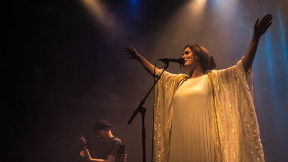 Frida aus Beirut gastiert zurzeit mit drei Live-Konzerten (4. – 6. Dezember) in der Roten Fabrik in Zürich.