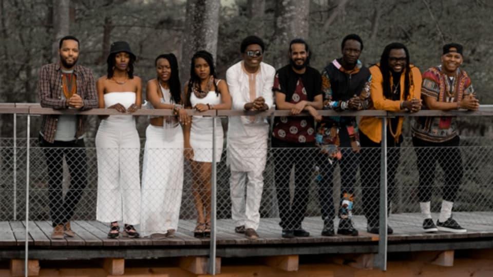 Das Afro-Swiss-Orchestra hat sich eigens für Afro-Pfingsten gebildet.