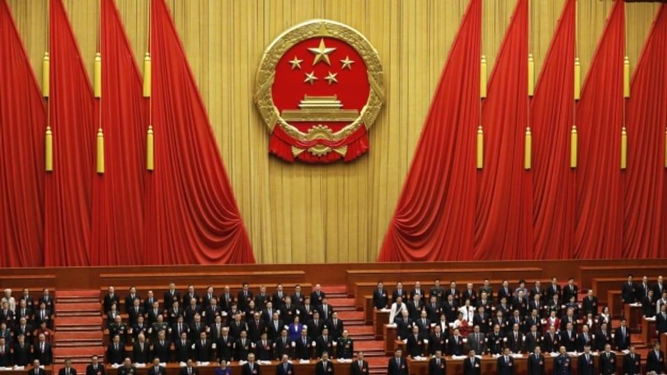 Der Nationale Volkskongress in China ist auch eine grosse Show
