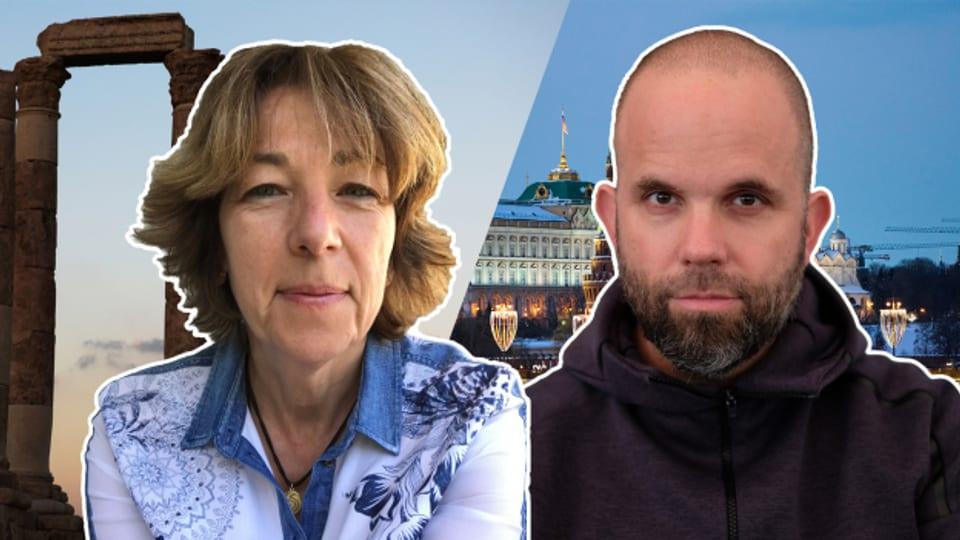Ausziehen, ausziehen! In den Badezimmern Russlands und Jordaniens