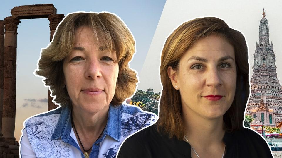 Tränen, Fluchwörter und Karma: Die Waffen einer Korrespondentin