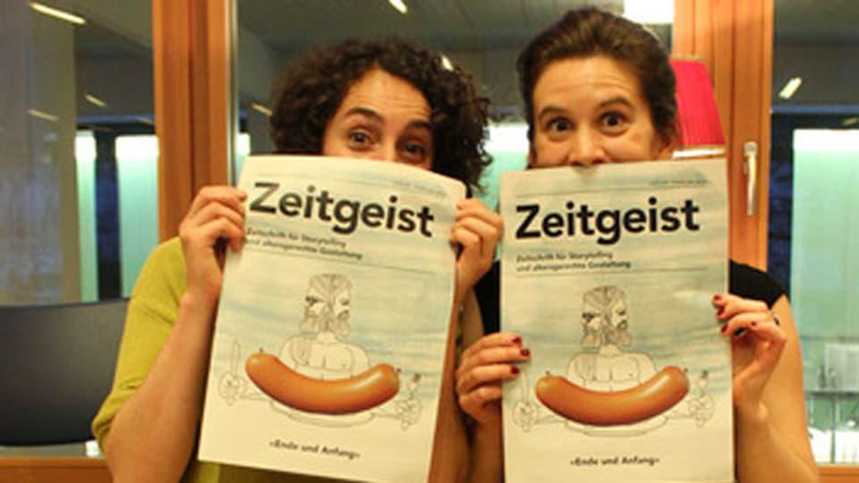 Die Köpfe hinter «Zeitgeist»: Carolyn Kerchof (links) und Martina Regli.