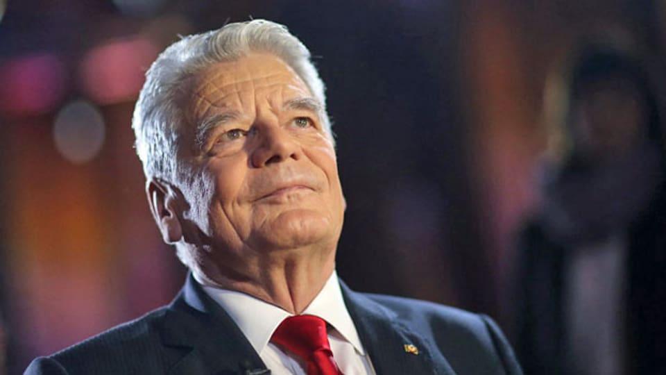 Der deutsche Bundespräsident Joachim Gauck.