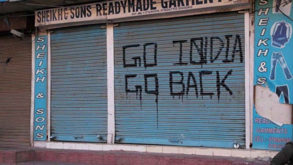 Graffiti in Srinagar