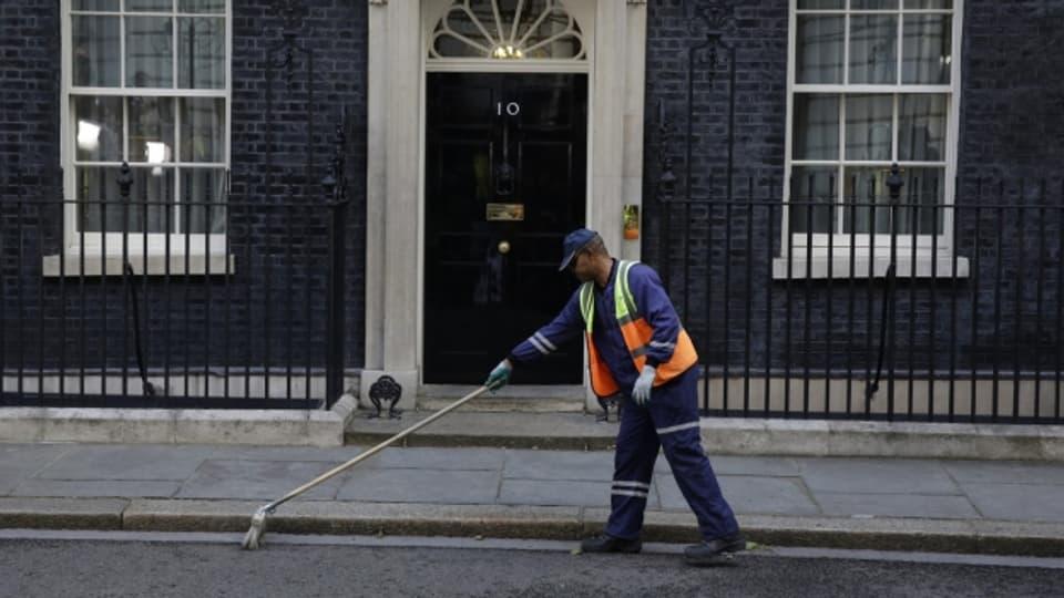 Ob Theresa May noch an der 10 Downing Street wohnhaft bleibt, ist am Freitagvormittag noch nicht klar.