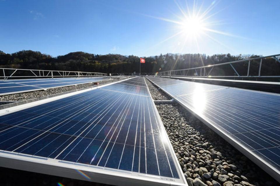 Solaranlage in Daillens