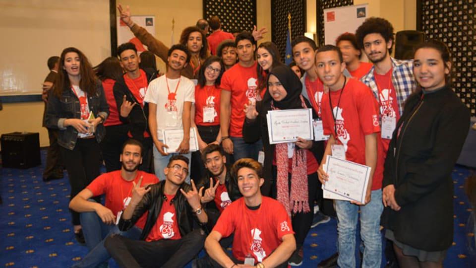Mitglieder der Organisation «Tunisia 88».