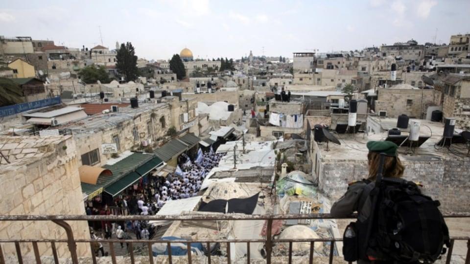 Die US-Botschaft wird von Tel Aviv nach Jerusalem verschoben.