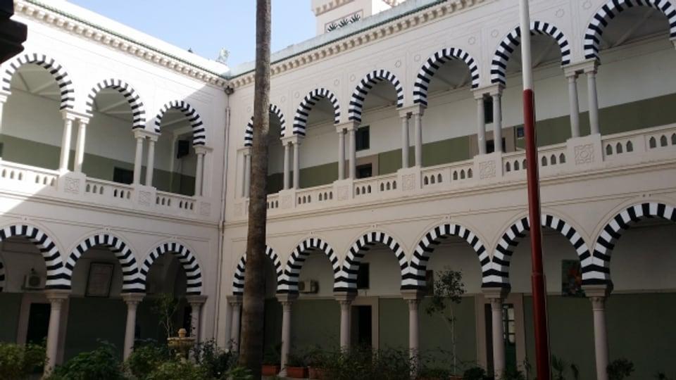 Das Collège Sadiki in Tunis, eine der traditionsreichsten Schulen Tunesiens und Unesco-Welterbe. Hier ging auch Staatsgründer Habib Bourguiba zur Schule.