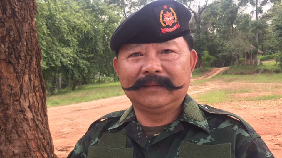 Korn Jum ist ein Kommandant der ethnischen Shan Rebellengruppe RCSS.