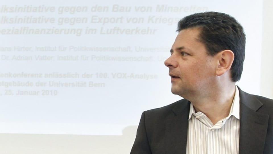 Adrian Vatter ist Professor für Politikwissenschaft an der Universität Bern.