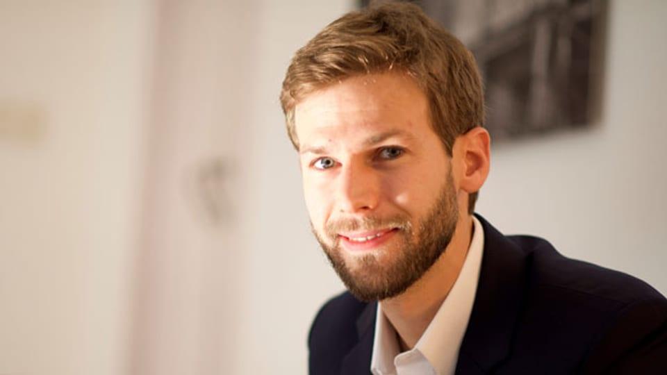 Florian Weigand. Forscher für die London School of Economics zum Thema bewaffnete Gruppen.