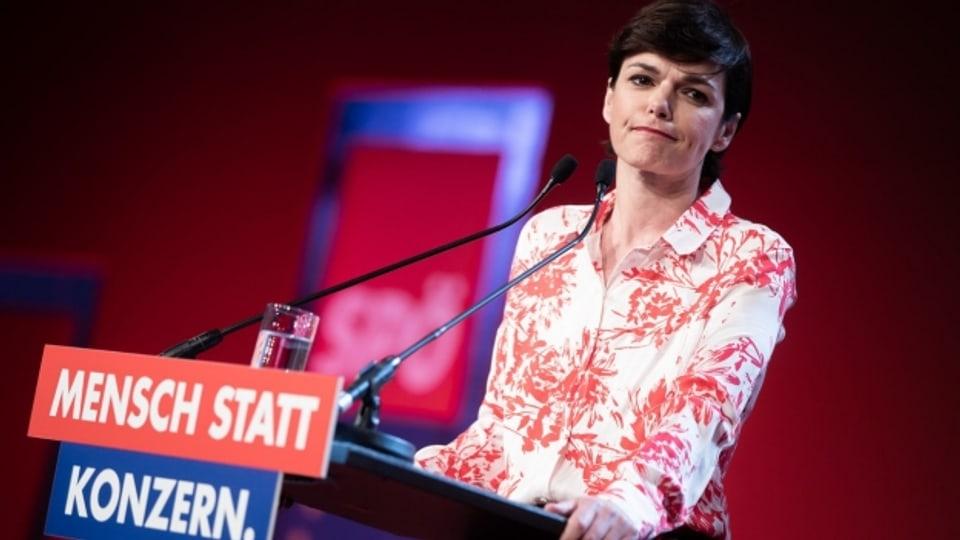 SPÖ-Vorsitzende Pamela Rendi-Wagner.