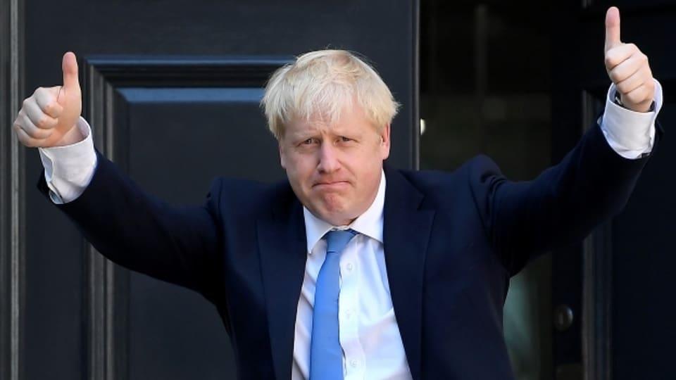 Johnson versucht den Neustart in England.